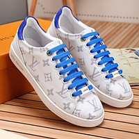 LV Louis Vuitton New Trending Women Casual Leather Sport Shoes Sneakers