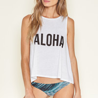 AMUSE SOCIETY - Hello Hawaii Tank | White