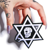 Mishka Seal Of Solomon Patch White One