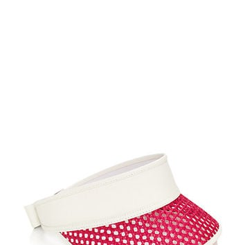 Kate Spade Caning Visor Flo Pink ONE