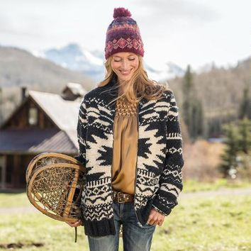 Wolf Creek Zip Sweater