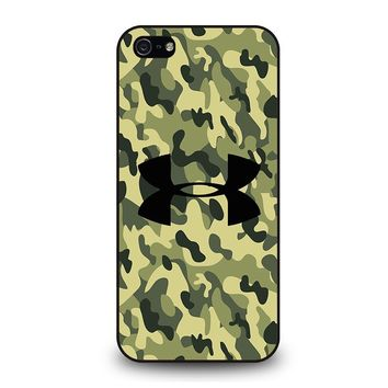CAMO BAPE UNDER ARMOUR iPhone 5 / 5S / SE Case Cover