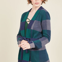 Simply Snuggly Cardigan in Woodland | Mod Retro Vintage Vests | ModCloth.com