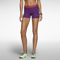 "Nike Pro Core 3"" Compression Women's Shorts - Bright Grape"