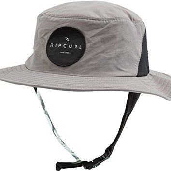 Rip Curl Men's Debut Surf Hat, Grey, One Size