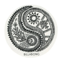 Billabong Yin Yang Sticker Black One Size For Women 26642610001