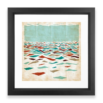Society6 Sea Recollection Framed Print