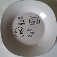 Adventure time plate