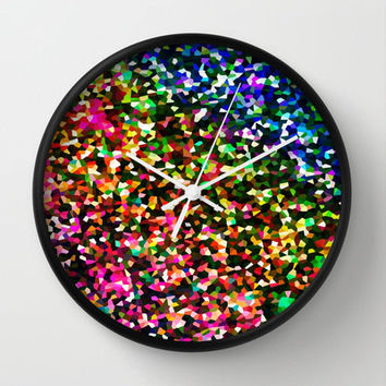 SALE Clock, Sublime Color Clock, Wall Clock, Bright Clock, Coloful Clock, Home Decor, Kitchen Clock, Colorful Wall Clock, Bright Wall Clock