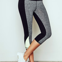 MARLED PANEL ACTIVEWEAR CROPPED LEGGING - PROMO 60% OFF