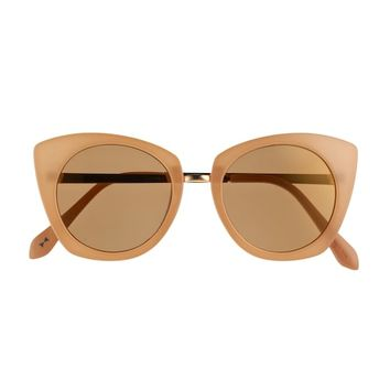 LC Lauren Conrad Jester 52mm Oversized Cat-Eye Sunglasses