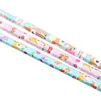Buy Sanrio Hummingmint Printed 2B Pencil Set of 3 at ARTBOX