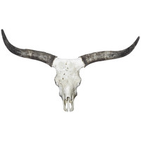 Long Horn Cow Wall Decal