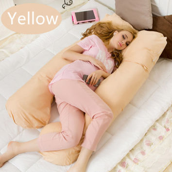 Pregnancy Pillow Belly Contoured U Shaped Body Pillows