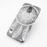 Clear iPhone Case with White Dreamcatcher iPhone 6 Plus
