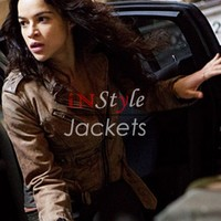 Michelle Rodriguez Jacket From Furious 7 | Instyle Jackets