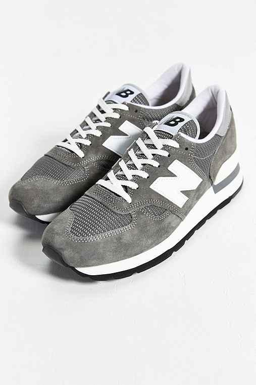 separation shoes c8648 e1067 New Balance Made In USA 990 Bring Back Collection Running Sneaker- Grey