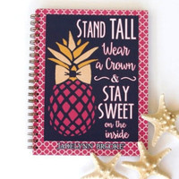 JADELYNN BROOKE: Stand Tall Spiral Notebook