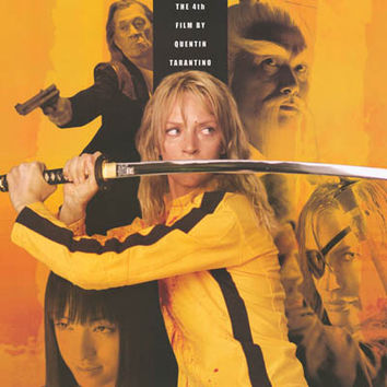 Kill Bill Revenge Is A Dish XL Giant Poster 37x53