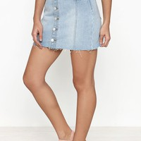 PacSun Button Front Mini Skirt at PacSun.com