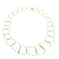 Diamond and yellow gold fluid necklace | Fernando Jorge | MATC...