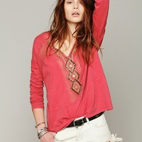 Free People Focus on Center Top