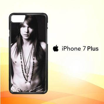 Axl Rose Guns and Roses wallpaper Y0566 iPhone 7 Plus Case
