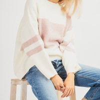 Chilly Weather Sweater - Mauve