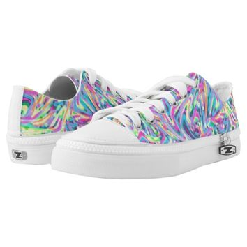 Funny Colorful Abstract Pattern Printed Shoes