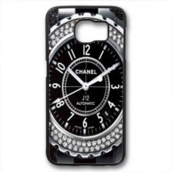 Diamond Chanel Watch for samsung galaxy s6 case
