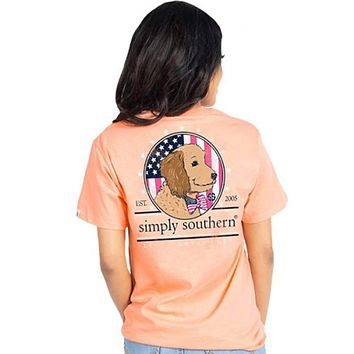 Preppy Doodle Tee by Simply Southern
