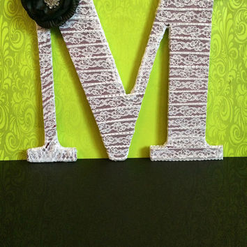 Custom Made Decorative Monogram by Tightly Wound Designs