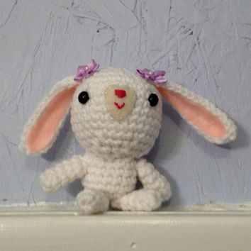 Crocheted Bunny - Stuffed Animal - Amigurumi