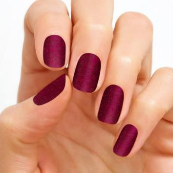 100% Real Nail Polish Strip by Color Street - Rio Red (Buy 3 get 1 Free)