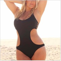 Comfortable High Quality Summer Hot Sale Plus Size Sexy Backless Swimwear [7767318599]
