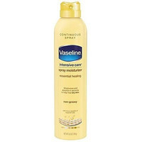 Vaseline Spray And Go Moisturizer In Total Moisture, 6.5 Ounce