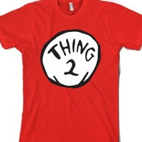 Thing Two-Unisex Red T-Shirt