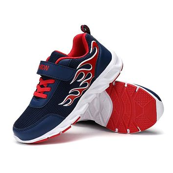 Kids Running Shoes For Boys Fashion Breathable Sport Sneakers Spring Big Children Shoes