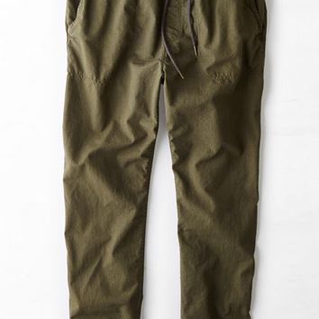 AEO Men's Ripstop Jogger Pant (Olive)