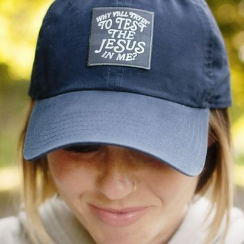 Test the Jesus Hat by Ruby's Rubbish