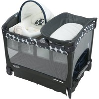 Graco Pack 'n Play Playard with Cuddle Cove Removable Seat, Navy Motif - Walmart.com