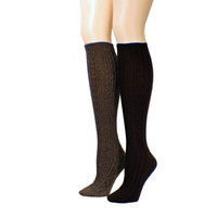 jcpenney | Mixit™ 2-pk. Twist Yarn Knee-High Socks