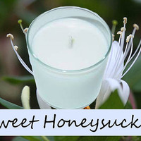 Sweet Honeysuckle Scented Candle in Tumbler 13 oz