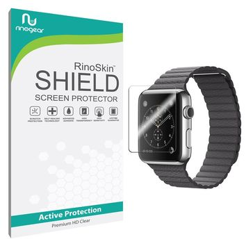 [6-PACK] Apple Watch 42mm (Series 1 / Series 2 / Series 3) Screen Protector [Military-Grade] RinoGear Sport Premium HD Invisible Clear Shield Anti-Bubble