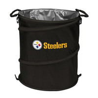 Pittsburgh Steelers NFL Collapsible Trash Can Cooler