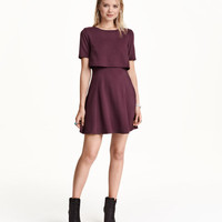 Textured Dress - from H&M