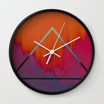 Clear as Day Wall Clock by Ducky B