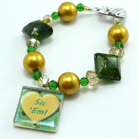 Baylor Team Spirit Bracelet Custom Order, or Your Choice of Schools