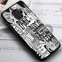 Collage Fan Art Panic At The Disco iPhone X 8 7 Plus 6s Cases Samsung Galaxy S9 S8 Plus S7 edge NOTE 8 Covers #SamsungS9 #iphoneX