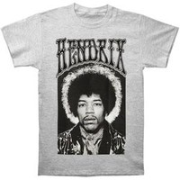 Jimi Hendrix Men's  Halo T-shirt Grey